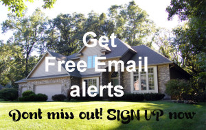 Signup form to get list of new houses for sale sent to your home
