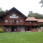Log Home Estate for sale near Kalamazoo, MI
