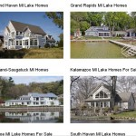 Search for all lake homes for sale in SW MI