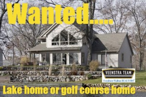 Kalamazoo lake or golf course home wanted