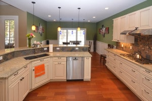 Fabulous kitchen with upgrades and granite