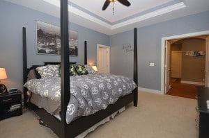 Four poster bed in Kalamazoo home soon to be for sale