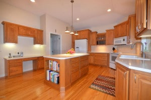 Image of kitchen at 6544 Hollison, a home for sale, with accessible desk