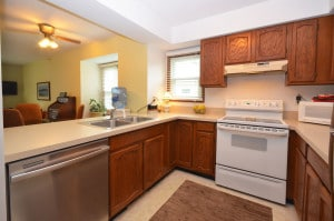 Kitchen of 4211 Kingsbrook - condo for sale in Kalamzoo