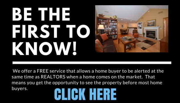 image for First to Know when homes come on market