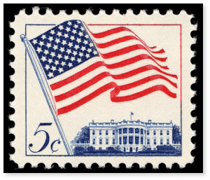 5 cent postage stamp picture